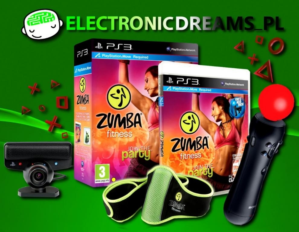 Zumba Fitness Join the Party + Move + Kamera + Pas (PS3)